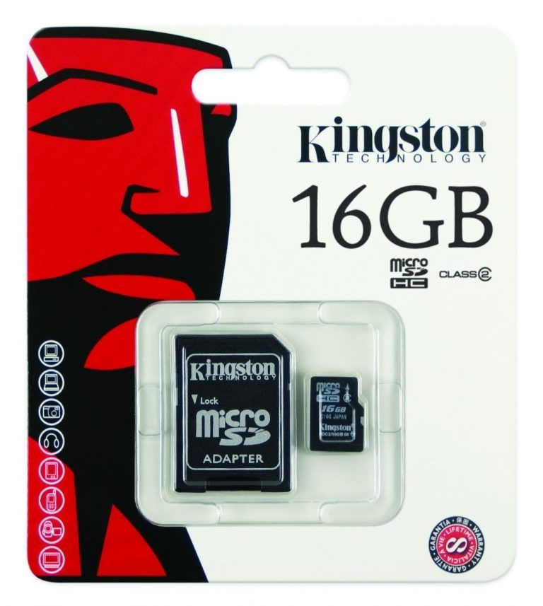 micro sd 16 kingston