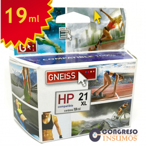 cartucho alternativo HP 21 oferta