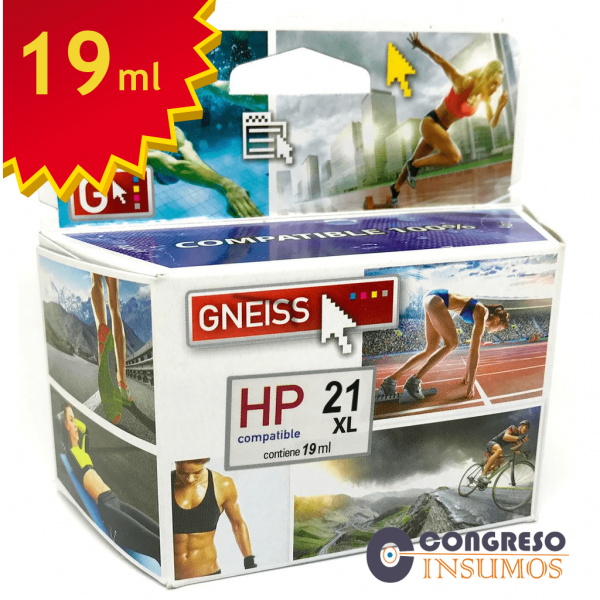 cartucho alternativo HP 21 oferta