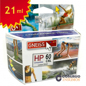 cartucho alternativo HP 60C