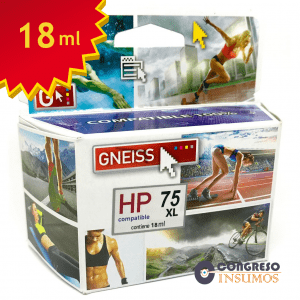 cartucho alternativo HP 75