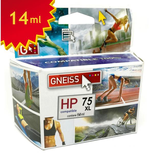 cartucho alternativo HP 75 oferta