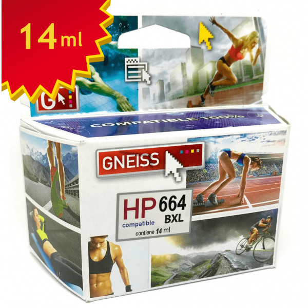 cartucho alternativo HP 664n oferta