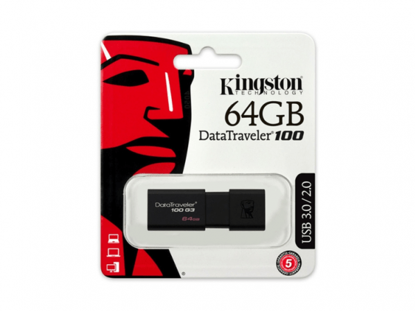 PENDRIVE KINGSTON 64 GB G3