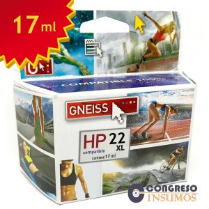 cartucho alternativo HP 22