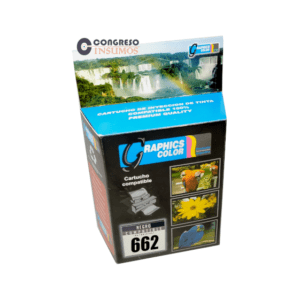 CARTUCHO RECICLADO HP 662N